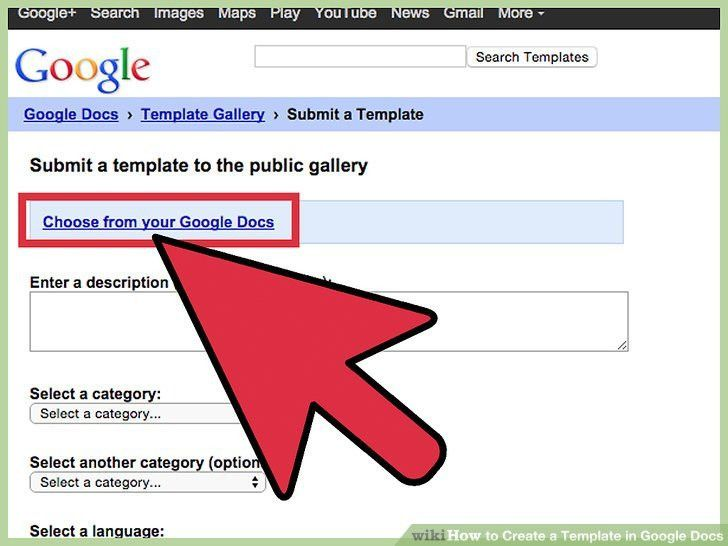 How to Create a Template in Google Docs: 13 Steps (with Pictures)
