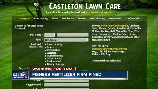CALL 6: Lawn care company fined for fertilizer ads without license ...