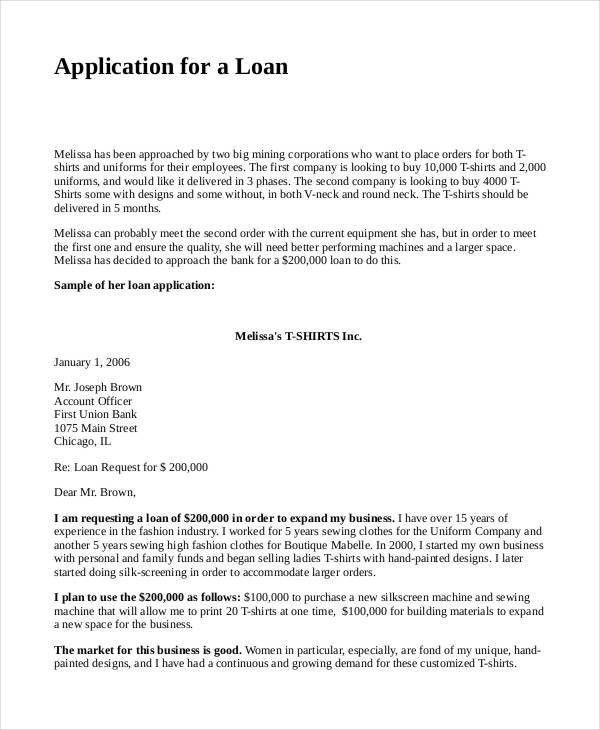 4+ Loan Proposal Templates - Free Samples, Examples Example Format ...