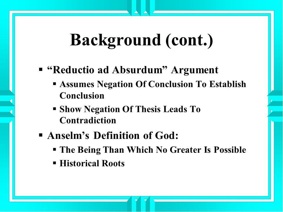 PHILOSOPHY OF RELIGION  Preliminary Issues:  Agreement vs ...