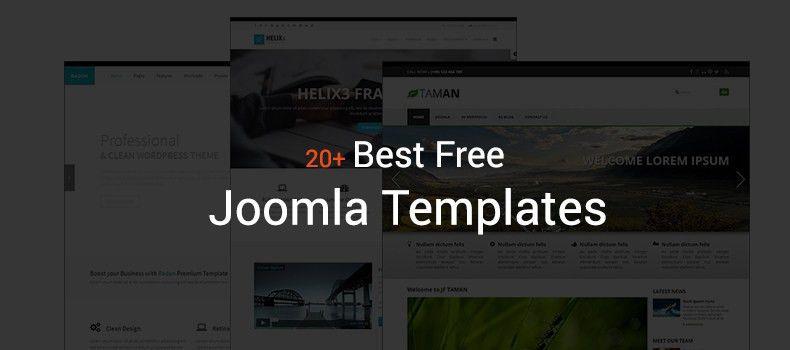 20+ Best Free Joomla Templates - CreativeCrunk