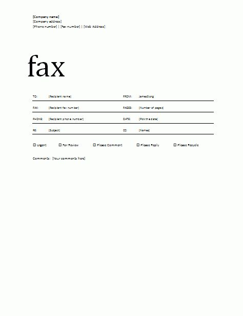 11+ free printable fax cover sheets - Basic Job Appication Letter