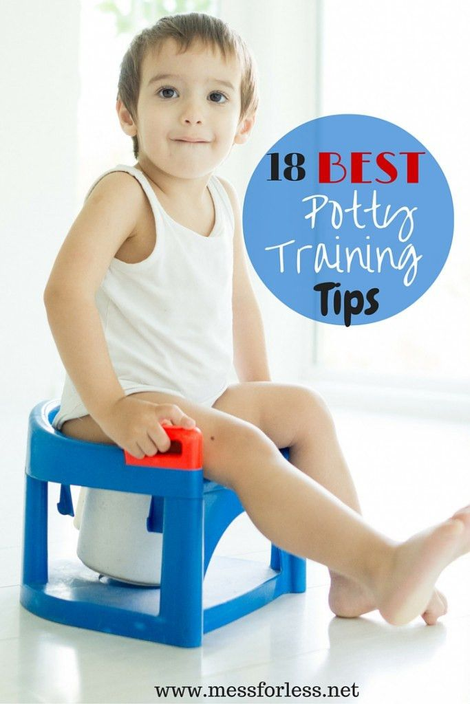 18 Best Potty Training Tips - Mess for Less