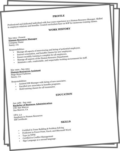 basic sample resumes sample basic resume simple resume examples ...