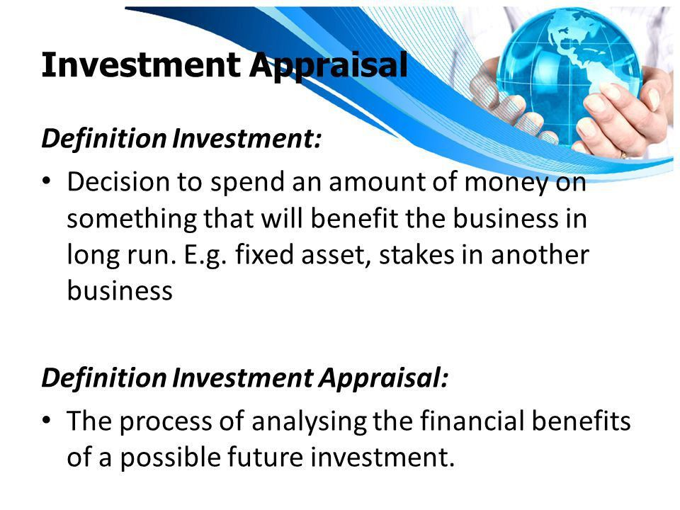 Making Investment Decisions - ppt video online download