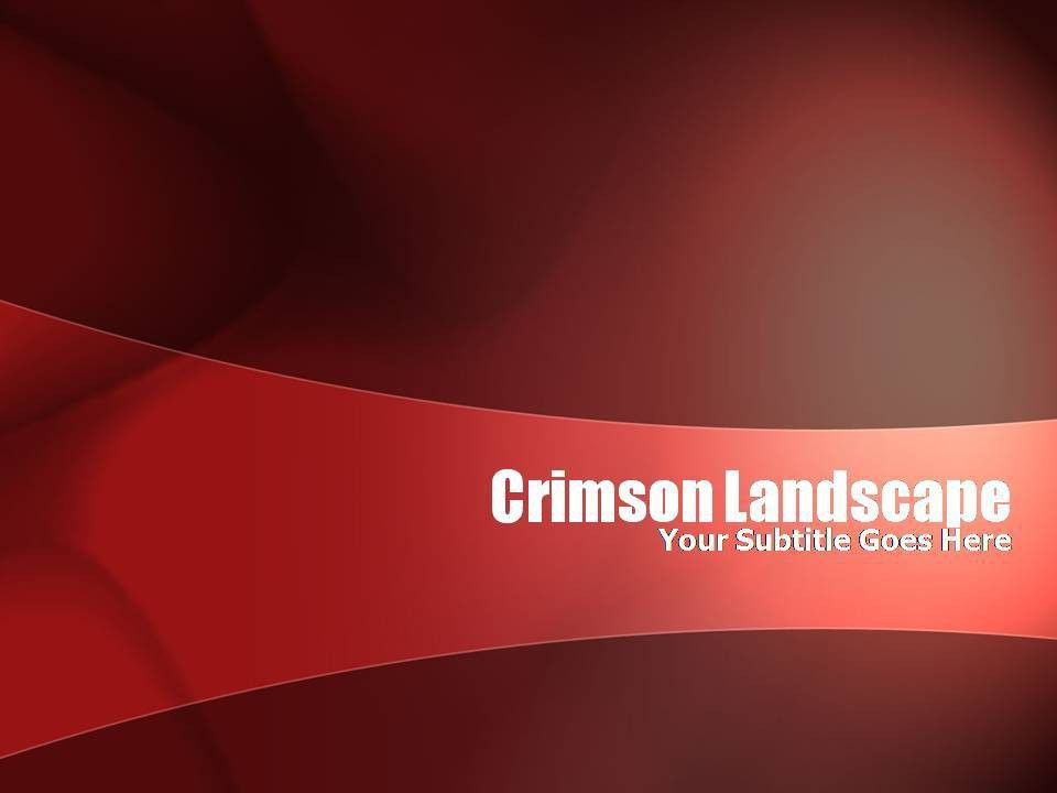 crimson PPT Templates, CR MSON Free ppt - Free PPT, Powerpoint ...