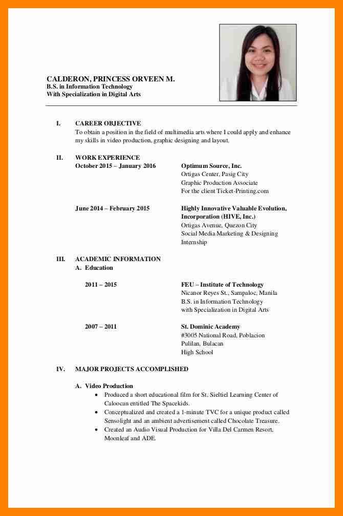 Formal Resumes Samples. cv format mycvfactory crazy 0jpg resume ...