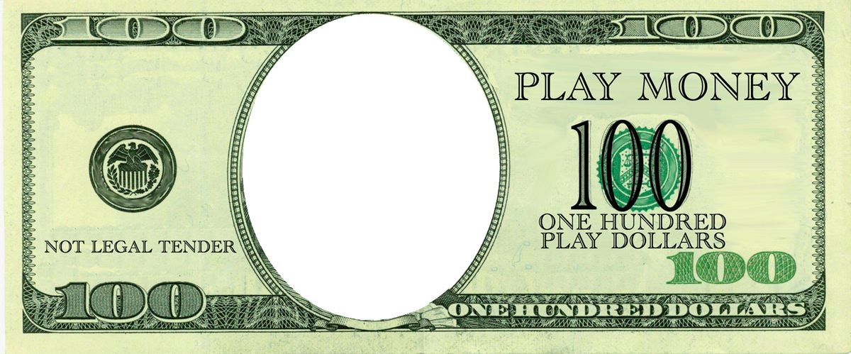 Realistic Play Money Templates | Free Printable Play Money ...