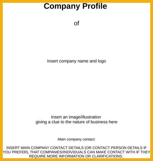 7+ company profile format doc | bursary cover letter