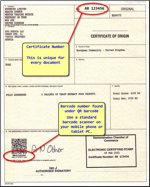 Certificate Validation - Check for Valid Certificate of Origin ...
