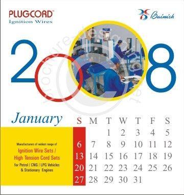 Calendar offer creative Calendar sample no-5490