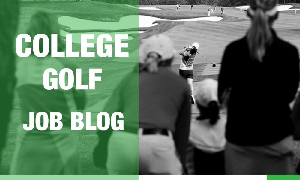 College golf job blog: News from around the coaching community ...