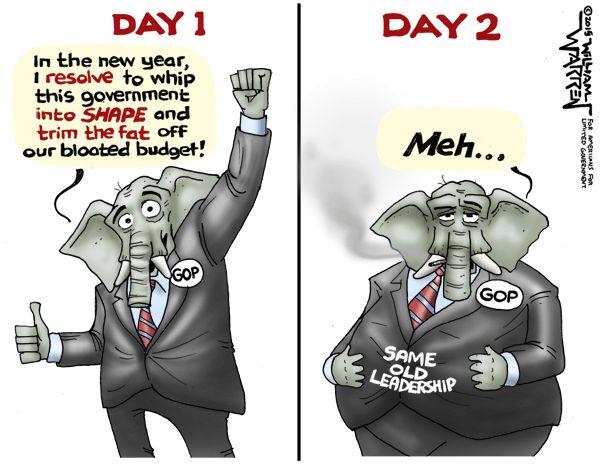 Cartoon: GOP Resolution - NetRight Daily