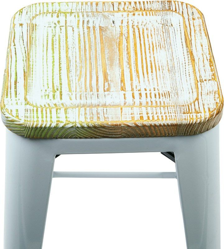 Designs Bristow 26'' Metal Barstool with Wood Seat - Set of 4 ...