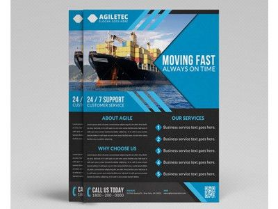 Corporate Flyer Template Vol 22 by Jason | Lets Just Design - Dribbble
