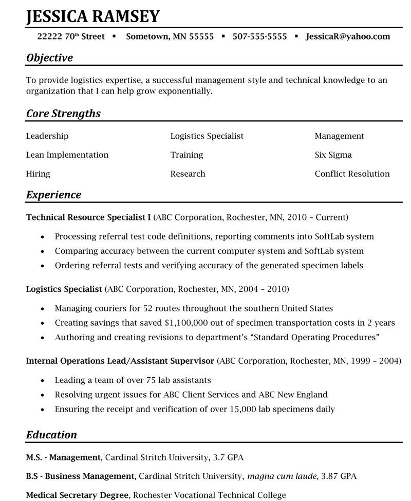 Complete Resume Package - Virtual Career Consultant
