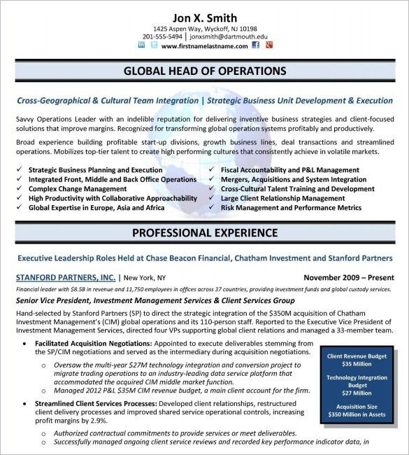 sales executive resume sample this sales executive resume is one ...