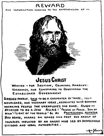 File:Jesus wanted poster.jpg - Wikimedia Commons