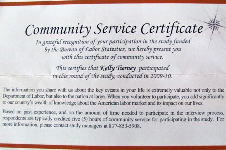 Community Service Award Certificate Wording, Winona State ...