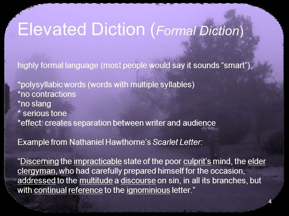 Diction. - ppt download