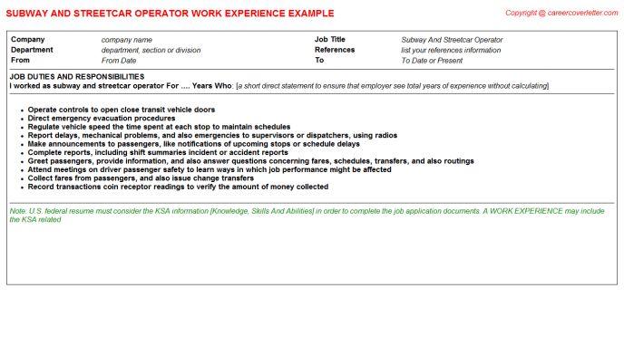 Groundsman Tree Climber CV Work Experience Samples