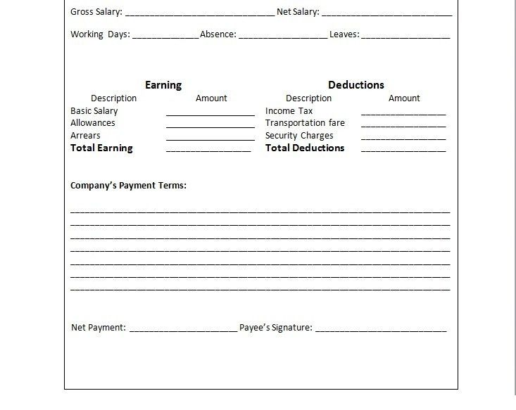 Awesome Payslip Doc Pictures - Best Resume Examples for Your Job ...