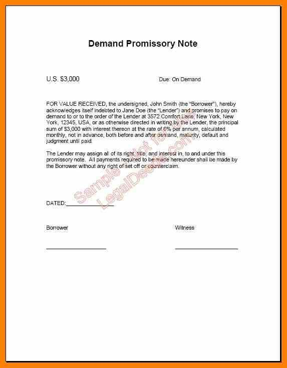 4+ examples of promissory notes | target cashier