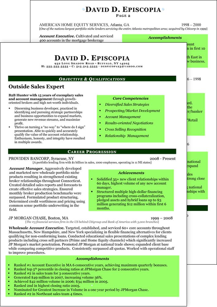 Career Mentors LLC - Resume Samples