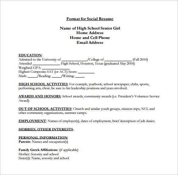 professional experience example for resumes