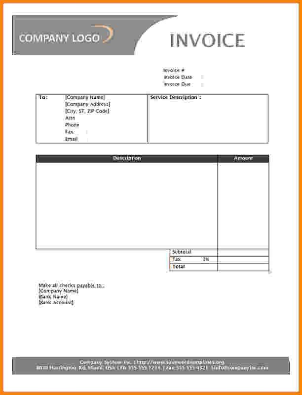 6+ invoice examples for services | Short paid invoice