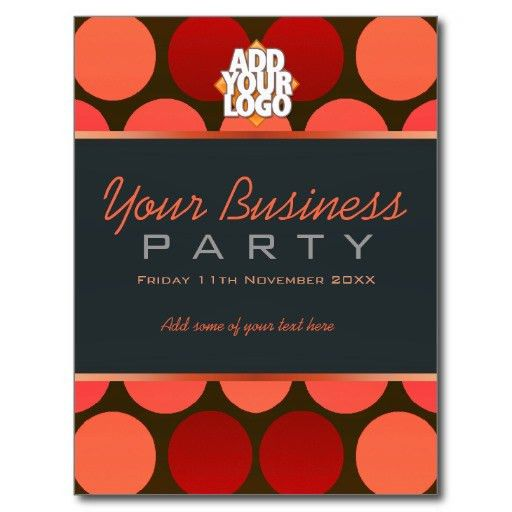 Office Party Invitation Samples