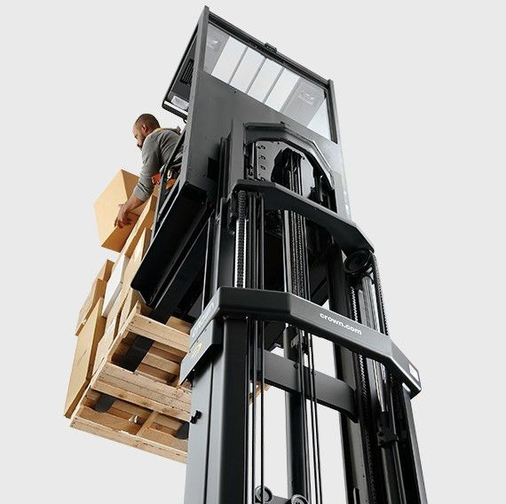 Order Picker Forklifts   SP Series   Crown Equipment Corporation