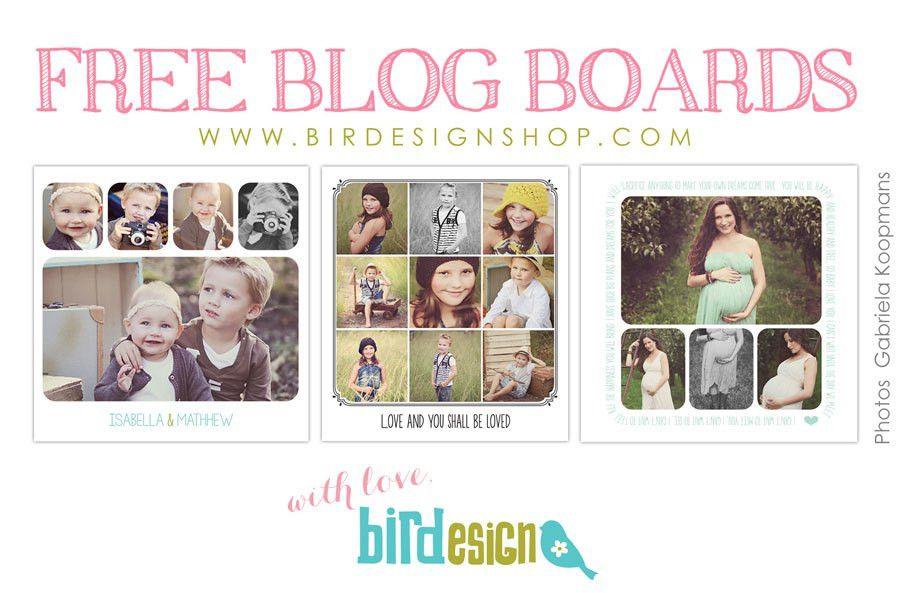 Freebies | Photoshop templates for photographers by Birdesign ...