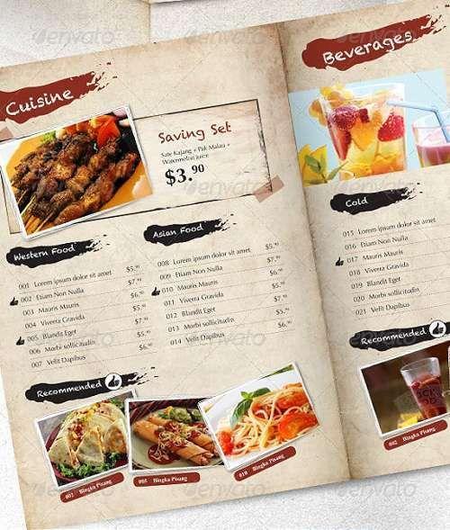 20 Best Cafe and Restaurant Menu Templates I - Design ...