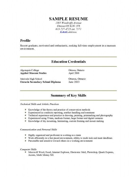 Show Me A Resume Example. Show Me A Resume Example Sales Resume ...