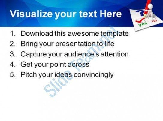 powerpoint questionnaire template questionnaire powerpoint ...