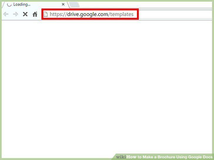 Google Drive Brochure Template | Template Design