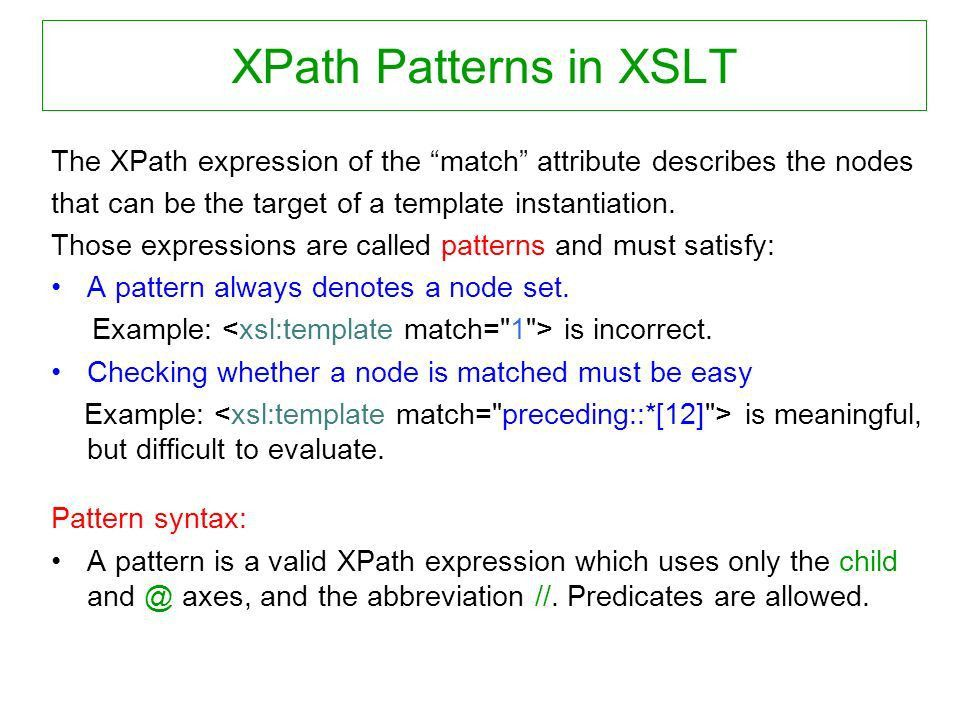 1 XML Data Management 7. XLST Werner Nutt. Kernow and Saxon To ...