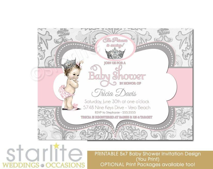 Baby Shower Invitation Template Free – gangcraft.net
