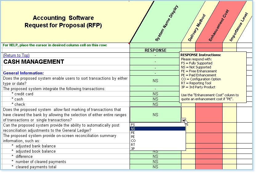 Accounting Software Evaluation - Comparison - Accounting Software ...