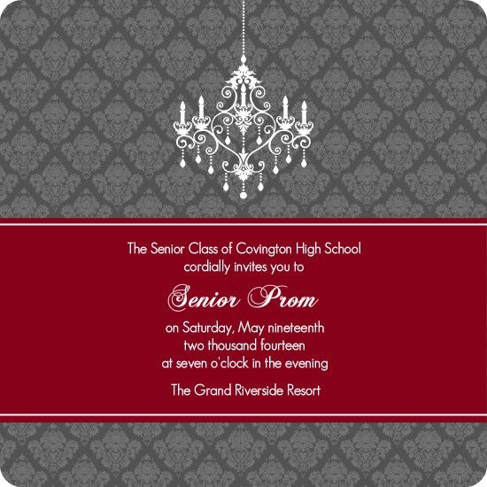 Prom Invitation Template | Best Template Collection