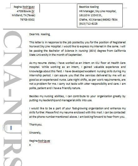 Cover Letter Template Word Medical. Health Care Cover Letters Care ...