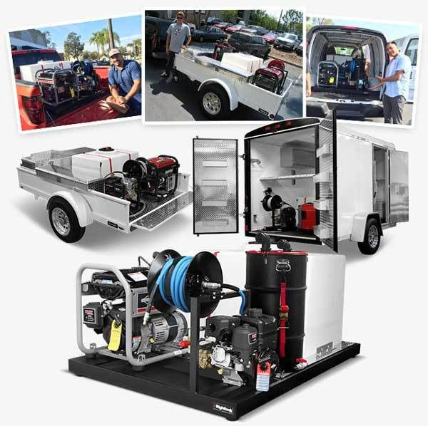 Mobile Auto Detailing Trailers - Mobile Car Detailing Trailers
