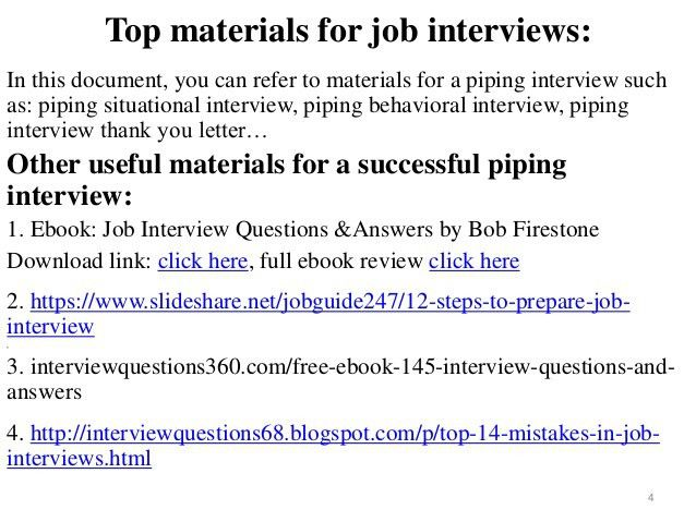 80 piping interview questions with answers