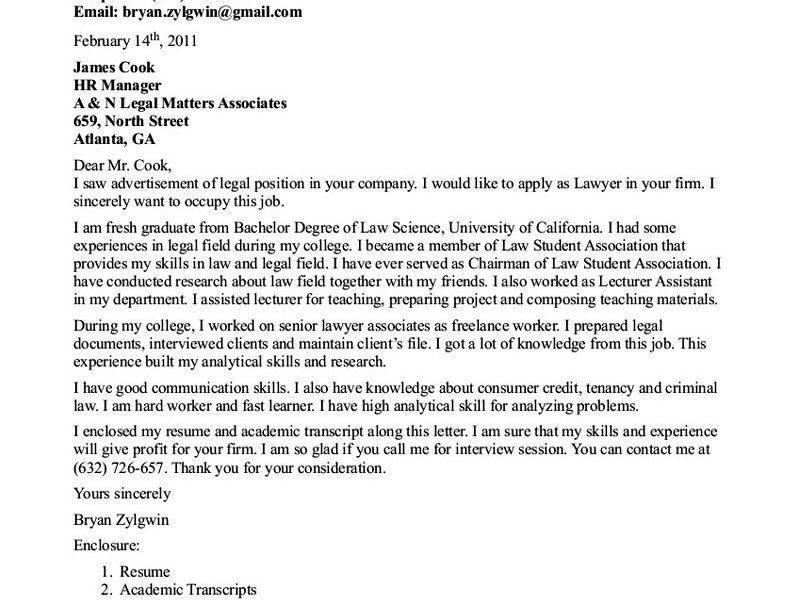 Download Writing A Cover Letter For A Government Job ...