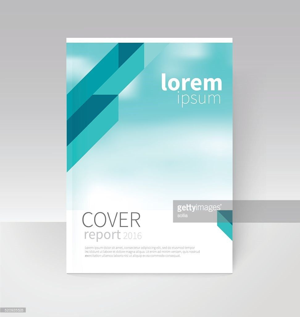 Cover Design Brochure Flyer Annual Report Cover Template Vector ...