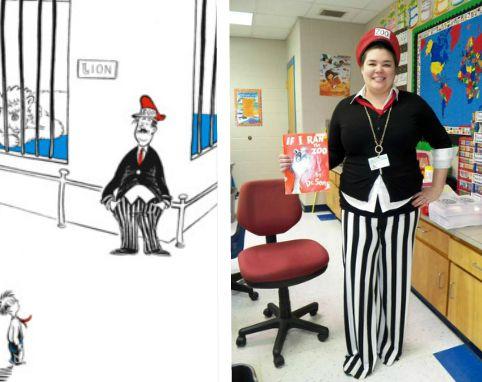 Dr. Seuss Day, If I Ran the Zoo, McGrew Zoo, zookeeper costume ...