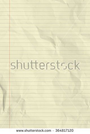 Blank Lined Paper Page Old Spiral Stock Photo 172123502 - Shutterstock