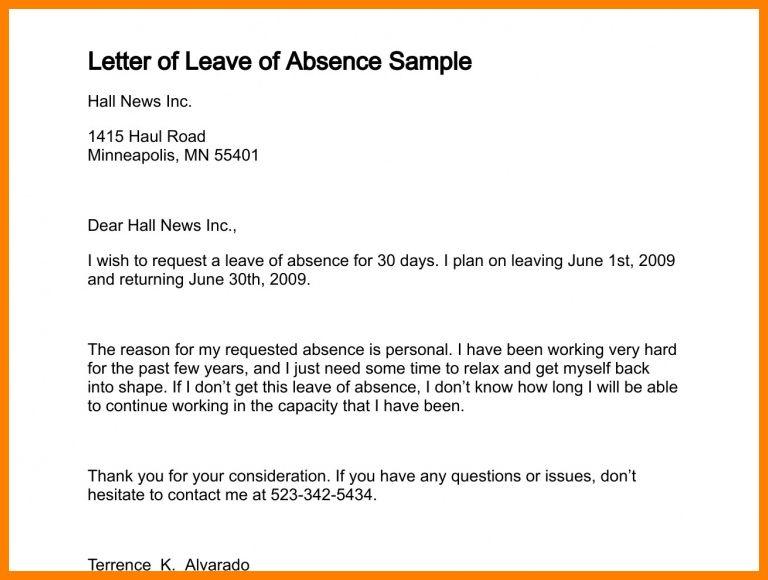 6+ school leave letter format | appeal leter
