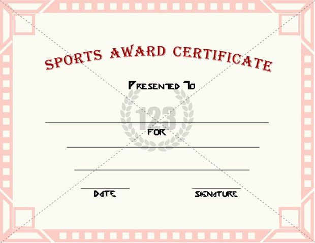 Good Sports Award Certificate Templates for free Download ...